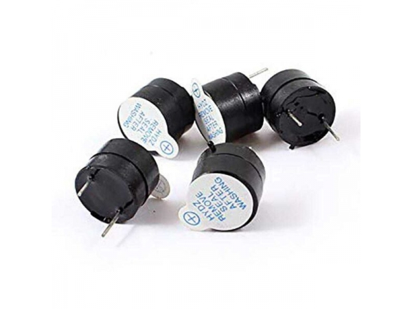 Active Buzzer Piezoelectric 3V 5V 12V Magnetic Long Continuous Beep Tone 12*9.5mm in Pakistan