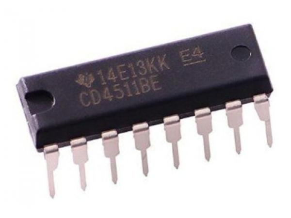 Cd4511 4511 Hcf4511 Bcd To Seven Segment Latch decoder drive