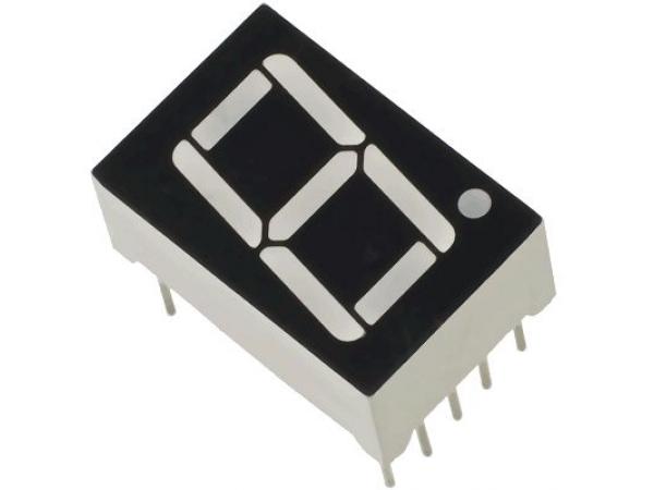 7 Segment Display Common Cathode SINGLE DIGIT 0.8MM